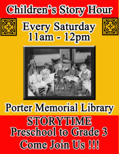 Story Hour for Kids- preschool to grade 3