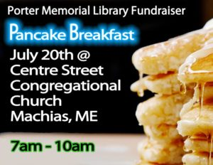 Pancake Breakfast@ Center St. Congressional Church.